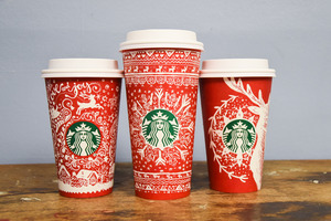 Starbucks brings back its holiday cups, which come in 13 different designs.