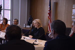 Sen. Kirsten Gillibrand (D-N.Y.) recently reintroduced the Family and Medical Insurance Leave (FAMILY) Act, which she has promoted since 2013.