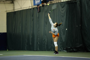 Anna Shkudun is only 1-7 in singles, and a November knee surgery is why.