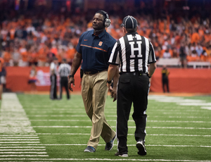 Syracuse head football coach Dino Babers added JUCO defensive end Josh Allen.