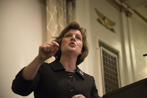Should Mayor Stephanie Miner veto the budget, the Common Council can overturn her veto with a two-thirds majority.