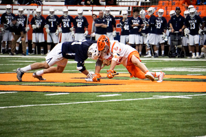 With the recent struggles of senior faceoff specialist Ben Williams, freshman Danny Varello has seen a heightened role at the faceoff X.