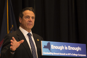 For every documented sexual assault case, many others go unreported. Gov. Andrew Cuomo's