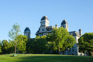 In addition to bathroom and classroom renovations, more greenery will be added on the Syracuse University campus.