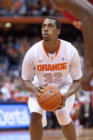 His senior year, Joseph paired with Scoop Jardine to lead the 2011-12 Orange to the Elite Eight and earned All-Big East First Team honors.